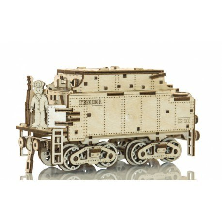 Drewniane puzzle mechaniczne 3d wooden.city - wooden express +