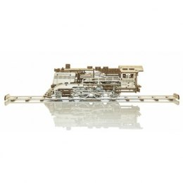 Drewniane puzzle mechaniczne 3d wooden.city - wooden express + tory